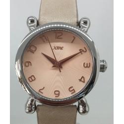 Bracelet cuir vachette sable