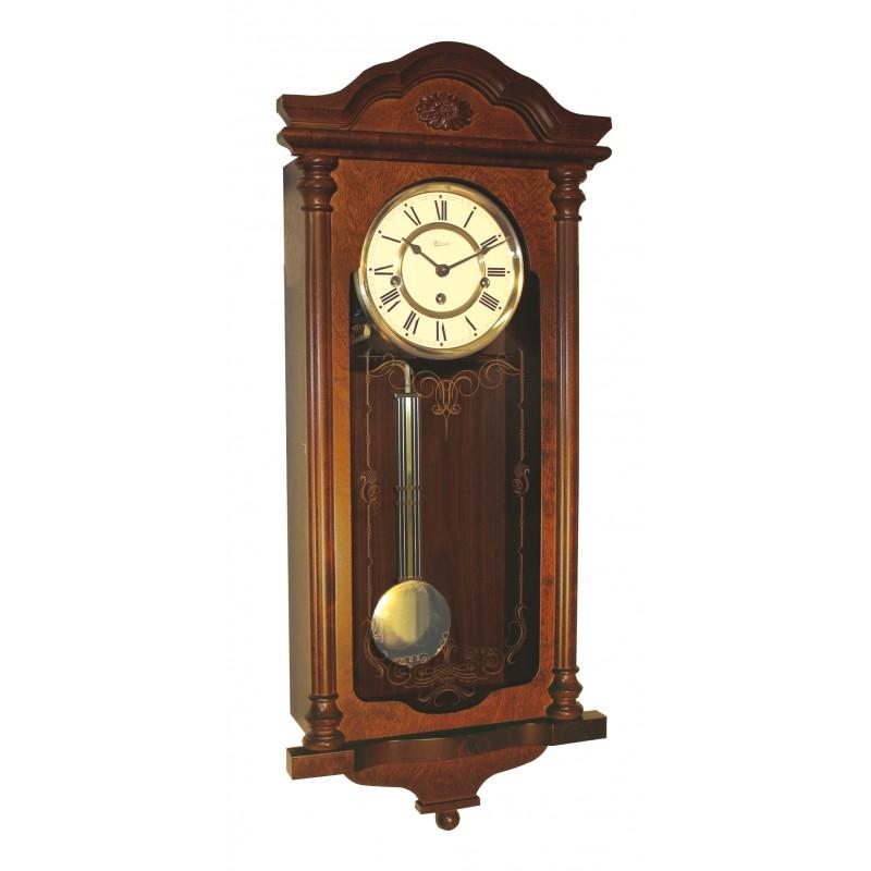Pendule murale m canique horlogerie pisson for Grande pendule en bois