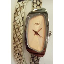 Bracelet cuir étain