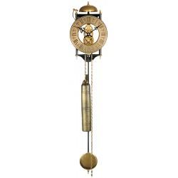 Pendule squelette mécanique à poids