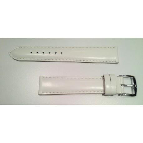 Bracelet Vachette Lisse Blanc