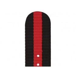 Bracelet Nato Noir Rouge