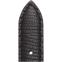 Bracelet Veau Façon Lézrad Noir