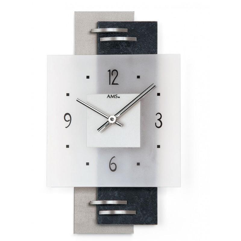 pendule murale ams horlogerie pisson. Black Bedroom Furniture Sets. Home Design Ideas