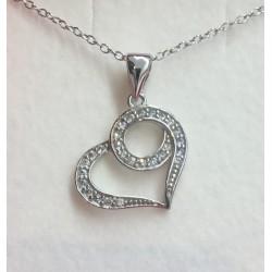 Bijoux Pendentif coeur