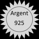 ARGENT 925°/oo